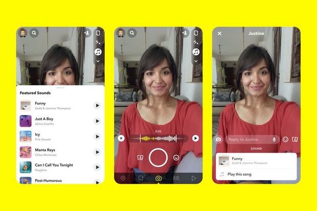 Snapchat reprend une fonctionnalité propre à TikTok