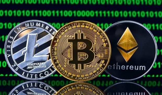 Bitcoin, Libra, Ethereum