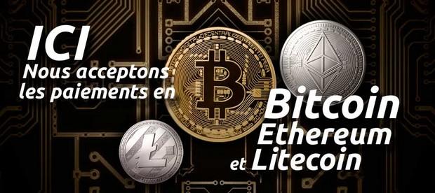 Ces commerçants qui acceptent les bitcoins