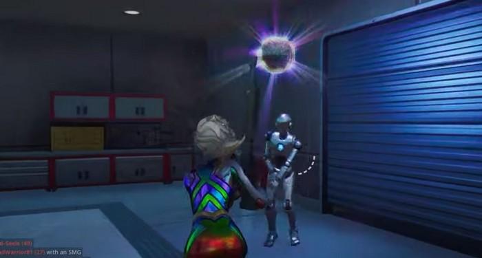 faire danser un robot Stark dans Fortnite avec une boogie-woogie