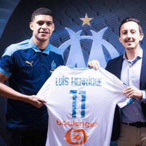Le jeune brésilien Luis Henrique portera le numéro 11 à Marseille