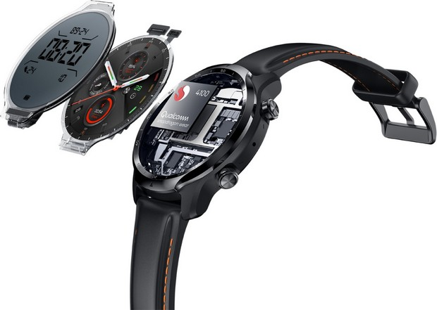 TicWatch Pro 3, une montre intelligente haute performance qui maintient le double écran et augmente la capacité de sa batterie