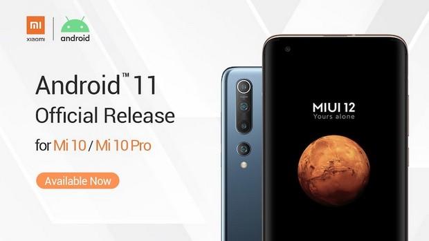 Le 9 septembre 2020: Xiaomi met à jour le Mi 10 et le Mi 10 Pro