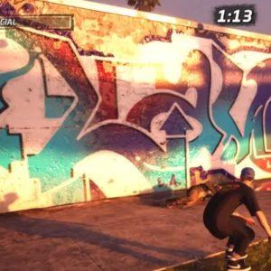 emplacement 4 : Où Ollie the Magic Bum 5x à Venice Beach THPS 1 + 2