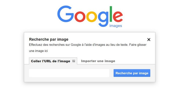 Recherche d'images Google