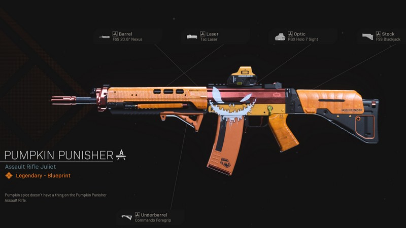 Comment obtenir le plan de Pumpkin Punisher dans Call of Duty Warzone