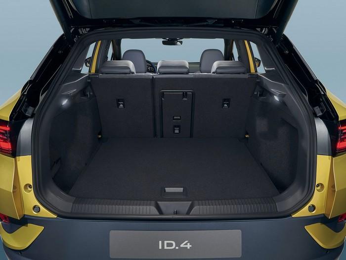 Le coffre de l'ID.4 est un peu plus petit que celui d'un VW Tiguan.