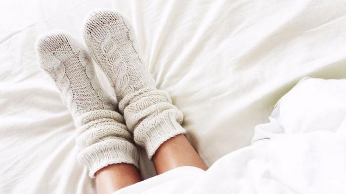 Portez des chaussettes ou des pantoufles