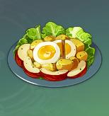 Salade satisfaisante