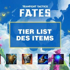 TFT : Tier list des items du Set 4