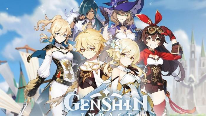 Ensemble des codes de Genshin Impact