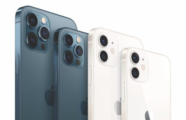 iPhone 12 vs 12 mini vs 12 pro vs 12 pro Max : comparatif et différences