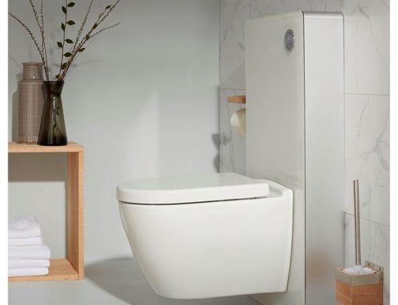wc japonais à la tuyauterie d'eau froide et d'eau chaude