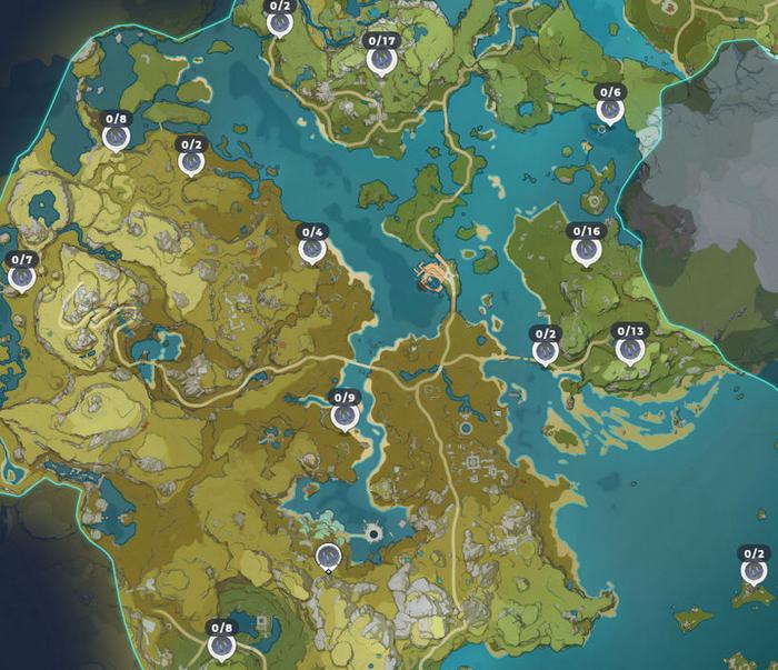 Emplacements Muguet bleu dans Genshin Impact : où les ...