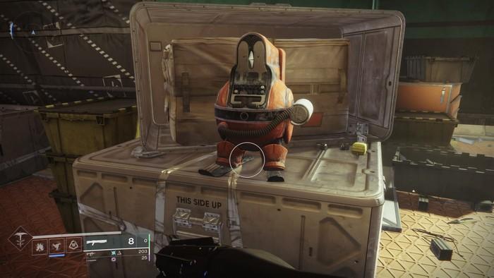 Destiny 2 Destiny 2, Au-delà de la Lumière L'emplacement du second Pingouin d'Europe