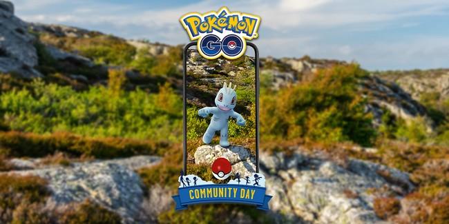 Community Day Machoc et Machoc shiny sur Pokémon GO