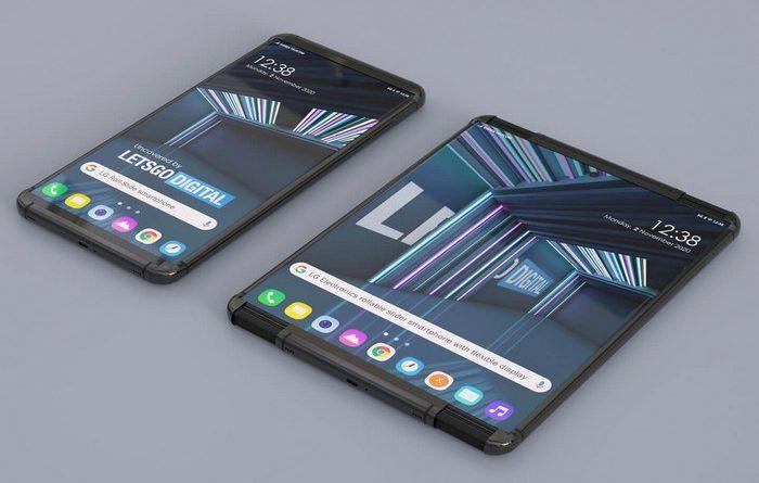 LG Rollable premier smartphone enroulable de LG