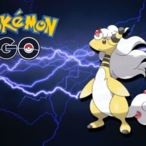 Le Pokémon Méga Pharamp fait son entrée dans les Méga-Raids