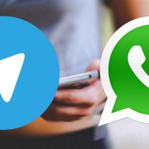 accéder à Telegram depuis WhatsApp
