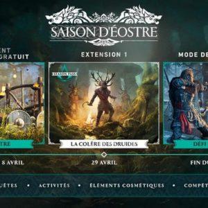 DLC Colère des Druides Assassin's Creed Valhalla