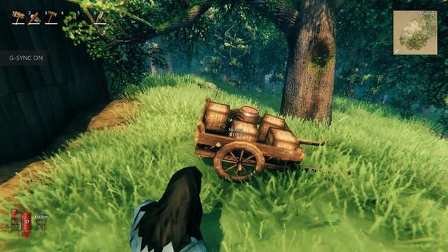 Comment fabriquer et utiliser un chariot à Valheim ?