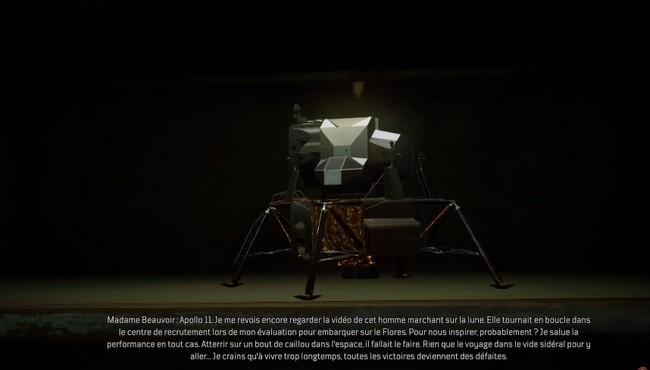Maquette d'Apollo 11