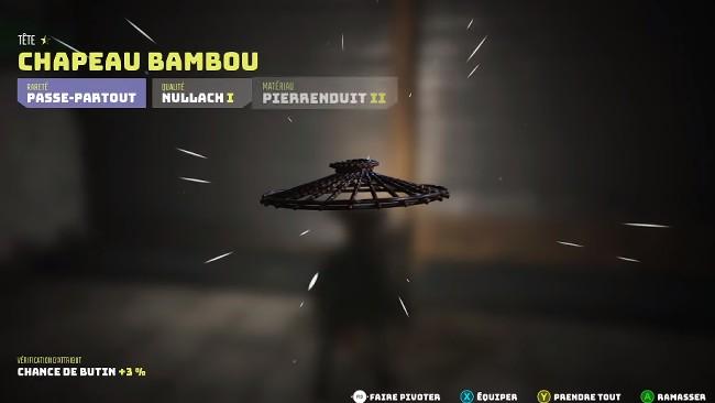Chapeau Bambou