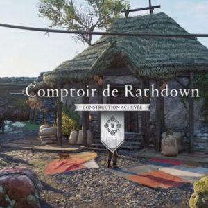 Prise de Rathdown- Assassin's Creed Valhallala Colère Des Druides -comptoir de Rathdown
