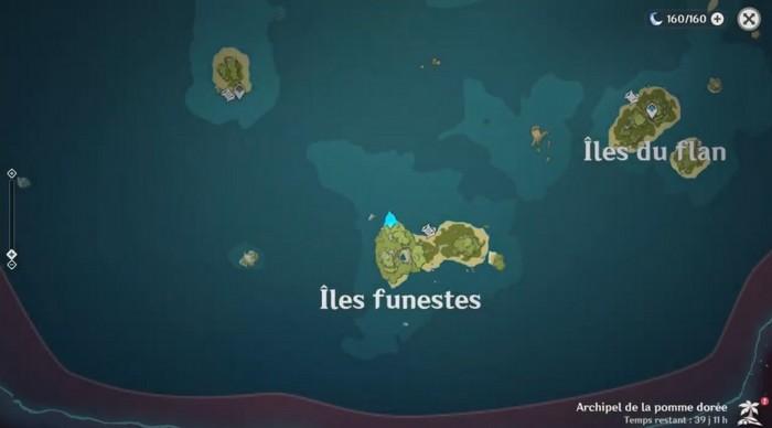 Solution Puzzle de la fée sur Archipel de la Pomme Dorée