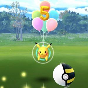 Pokemon Go Pikachu volant comment attraper le Pikachu Ballon 5 ans