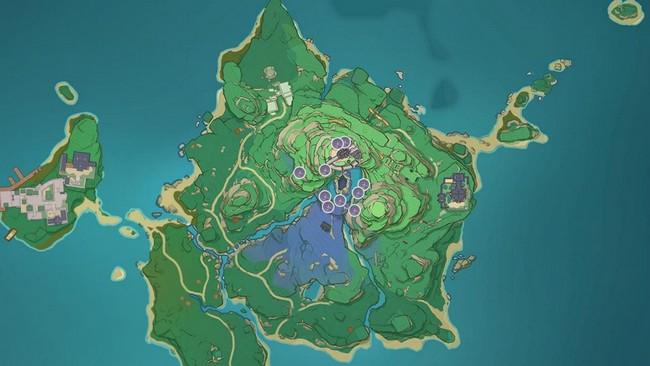 où trouver herbe à sanglots dans Genshin Impact