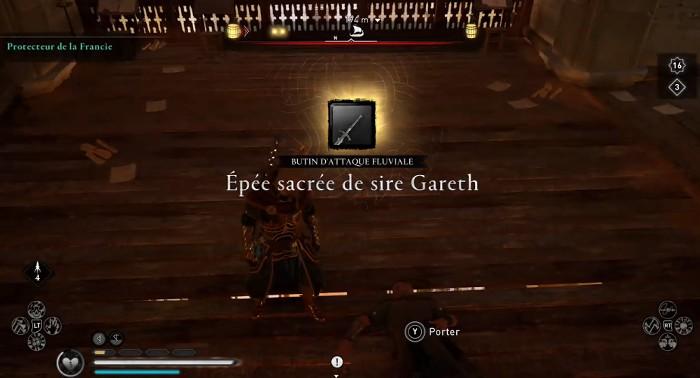 épée sacrée de sire Gareth