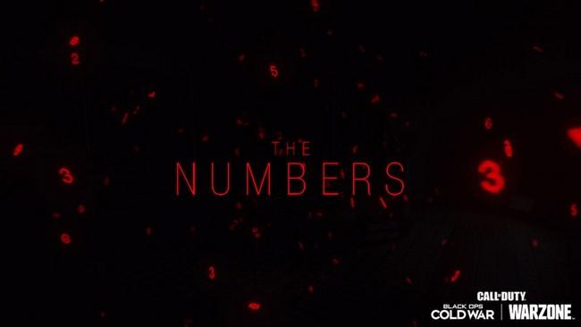 Date et heure de l'événement The Numbers dans Call of Duty: Warzone et Cold War