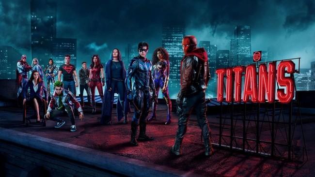Date et heure de sortie Titans Saison 3 Episode 8