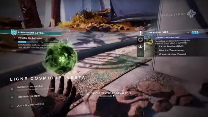 Emplacements des brins de noblesse dans Destiny 2