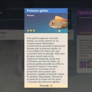 Poisson-globe genshin impact