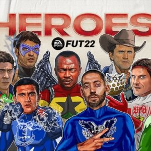 FIFA 22 : Toutes les cartes FUT Héros officielles