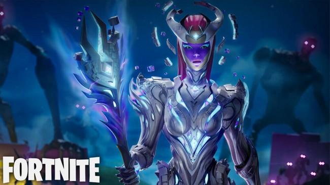 la Reine du Cube dans Fortnite