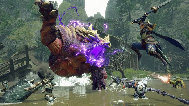 télécharger et jouer à la démo Monster Hunter Rise sur PC
